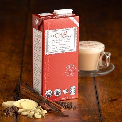 rooibos chai latte
