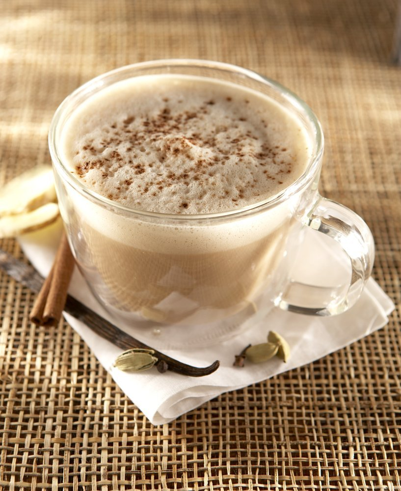 chai latte warm authentic