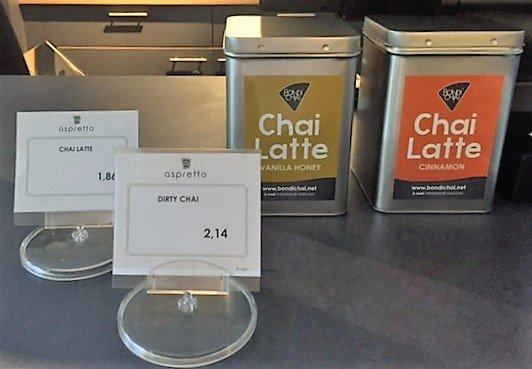 Sodexo Chai Latte