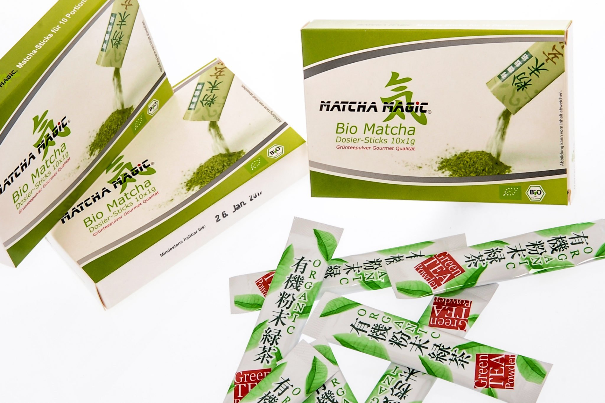 pure Matcha Matcha portie sticks
