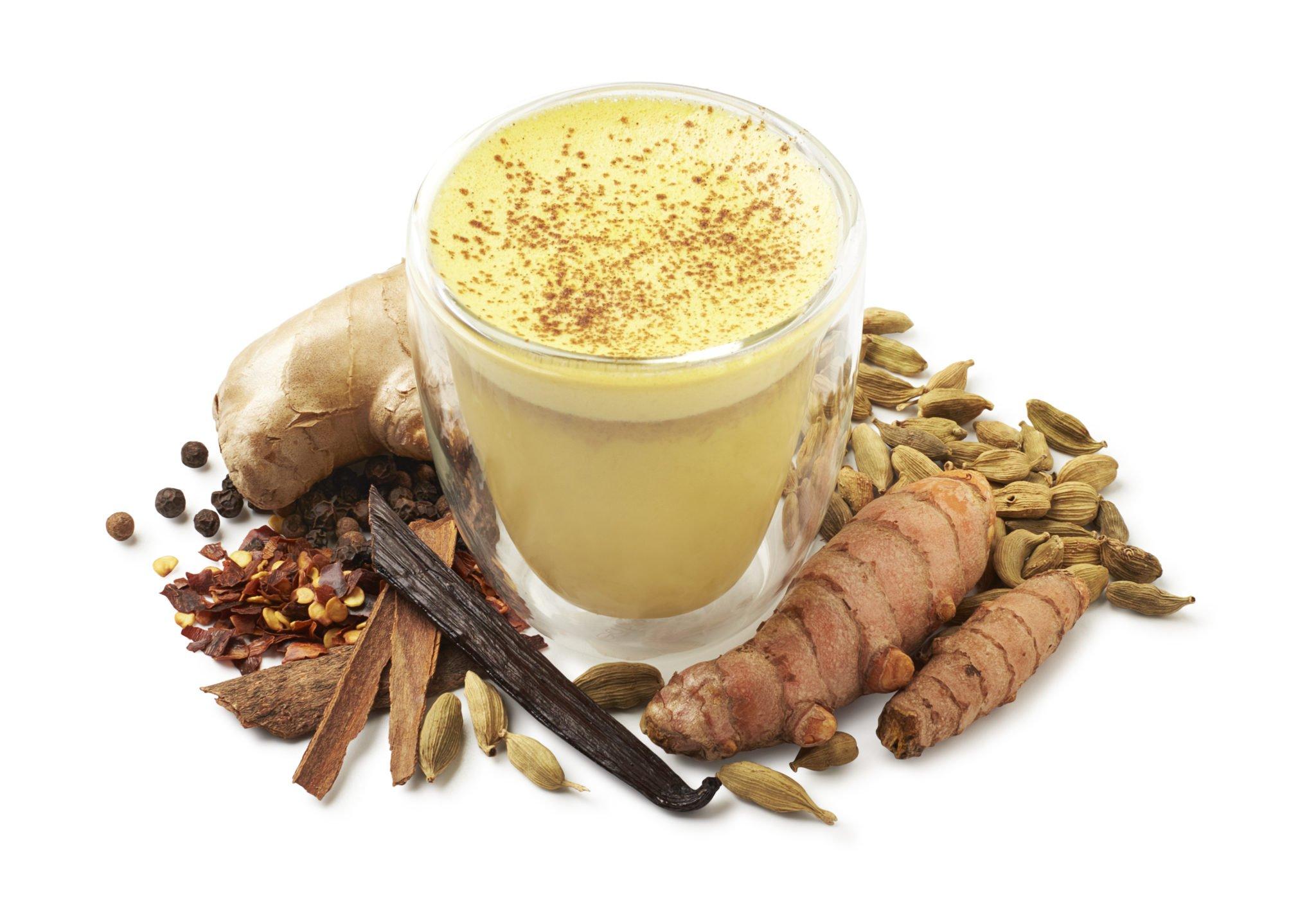 turmeric latte hot Turmeric (Kurkuma) Proefpakket