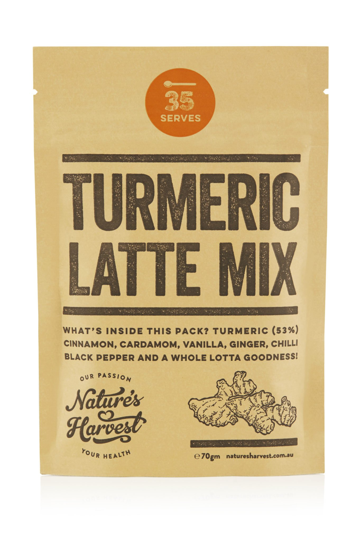 Turmeric – Kurkuma Latte 70g turmeric Latte Turmeric – Kurkuma