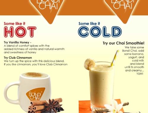 Bondi Chai is niet alleen warm maar ook koud waanzinnig lekker