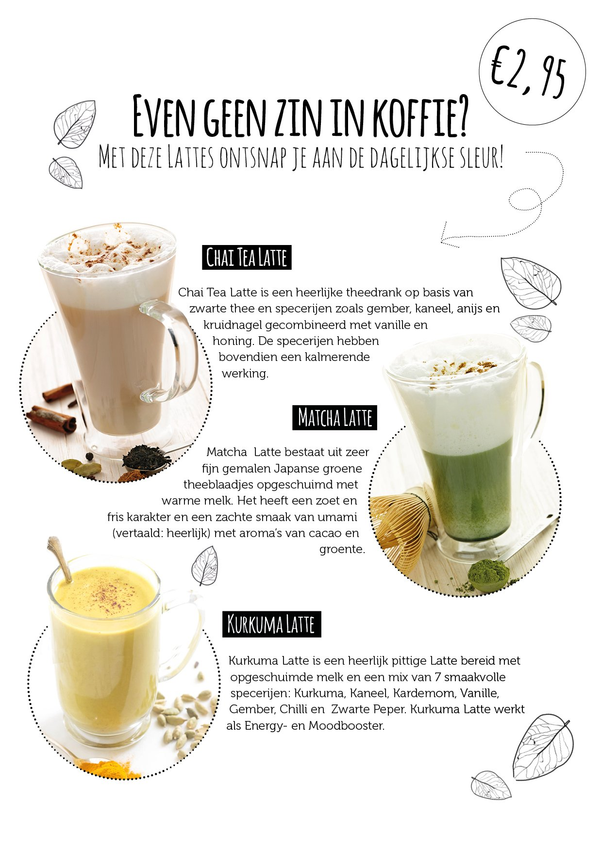 latte drinks