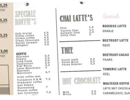 Horeca zet Chai Latte op de kaart!