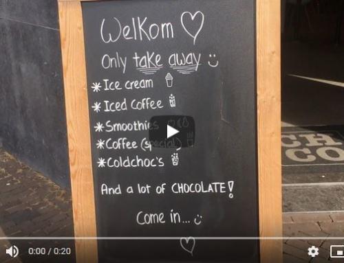 Chocolate Company blijft open met Take Away!